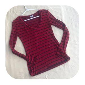 Women's medium striped shirt